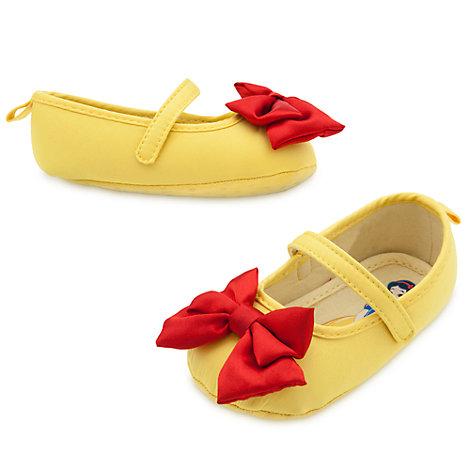 Zapatos de disfraz de blancanieves para bebé