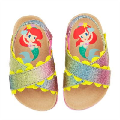 The Little Mermaid Baby Sandals