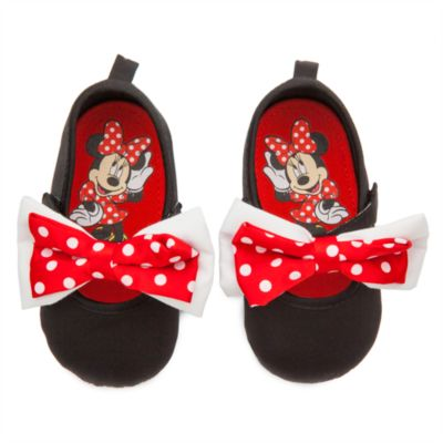 Minnie Mouse Baby Bow Shoes