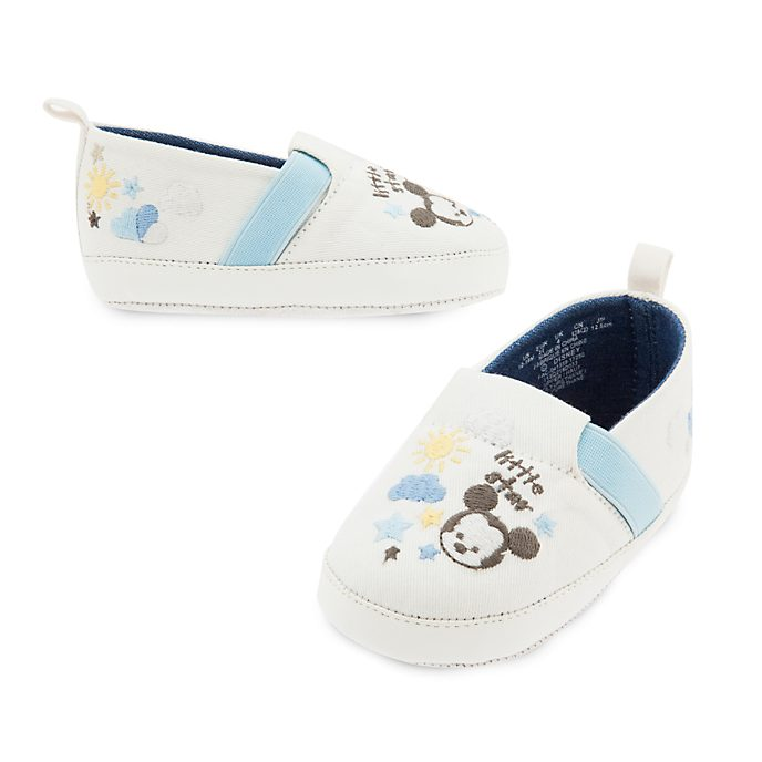 Mickey Mouse Baby Shoes