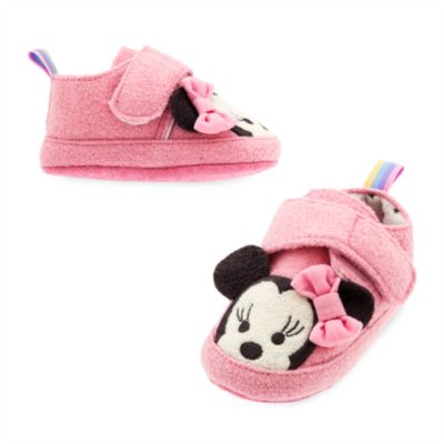 Minnie Mouse Baby Slippers