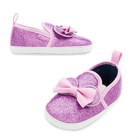 Chaussures pailletées Minnie Mouse pour bébés