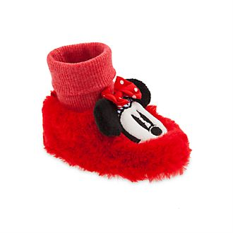 Disney Store Minnie Mouse Baby Slippers