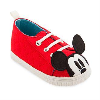 Chaussures Mickey Mouse rouges pour bébé, Disney Store