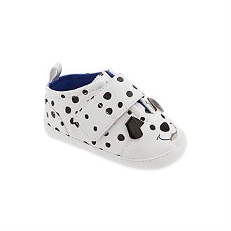 Chaussures Les 101 Dalmatiens bleues pour bébé, Disney Store