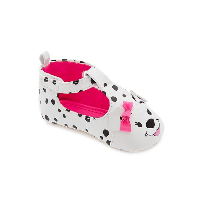 Disney Store 101 Dalmatians Pink Baby Shoes