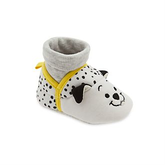 Disney Store 101 Dalmatians Baby Slippers