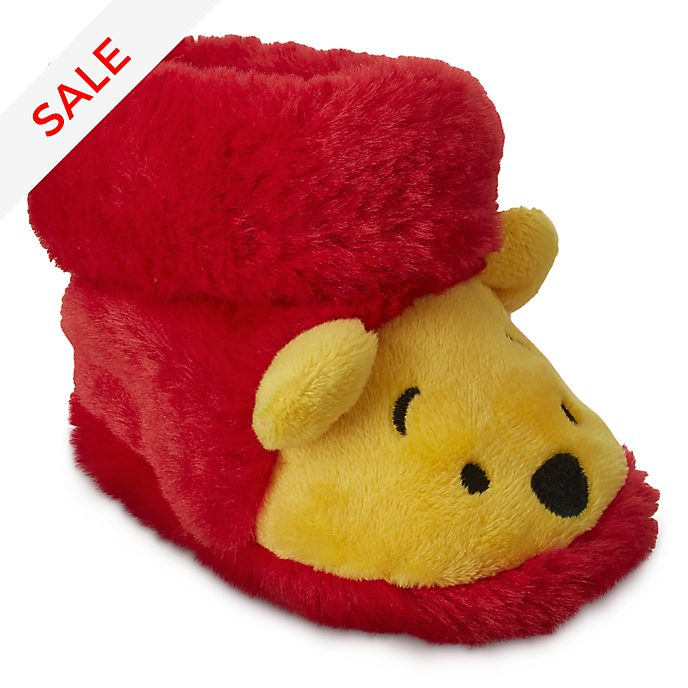 Disney Store Winnie the Pooh Baby Slippers