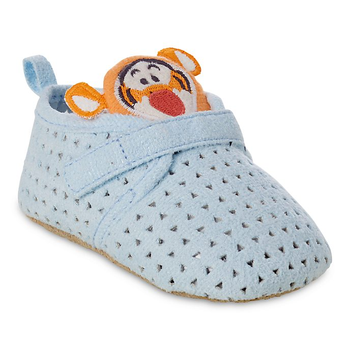 Disney Store Tigger Baby Crib Shoes, Winnie The Pooh