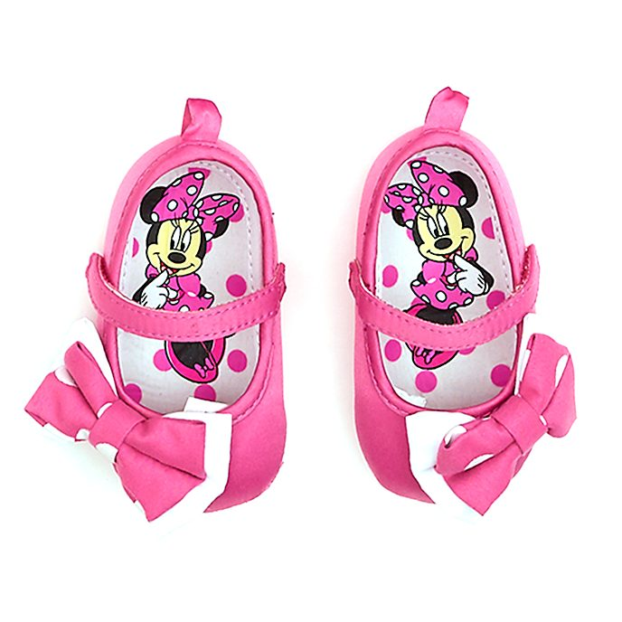 Disney Store Minnie Mouse Pink Baby Shoes