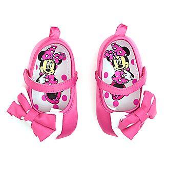 Chaussures Minnie Mouse roses pour bébé, Disney Store