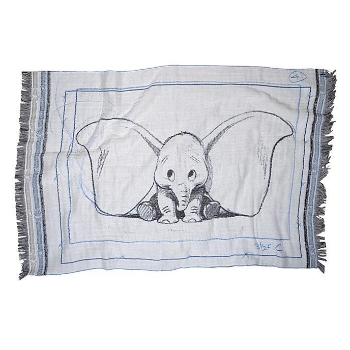 Zoepritz Couverture Dumbo bleue pour bébés