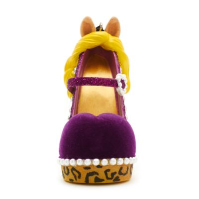 Disney Parks Miss Piggy Miniature Shoe Ornament, The Muppets