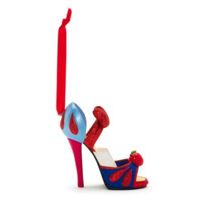 Chaussure décorative miniature Blanche Neige Disney Parks