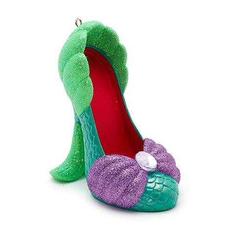 Disney Parks Ariel Miniature Shoe Ornament, The Little Mermaid