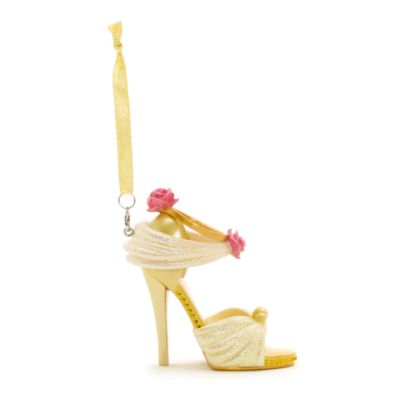 Disney Parks Belle Miniature Shoe Ornament, Beauty and the Beast
