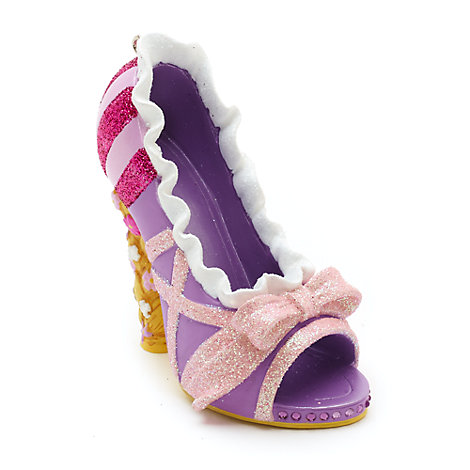 Disney Parks, scarpetta ornamentale Rapunzel, L'intreccio della torre