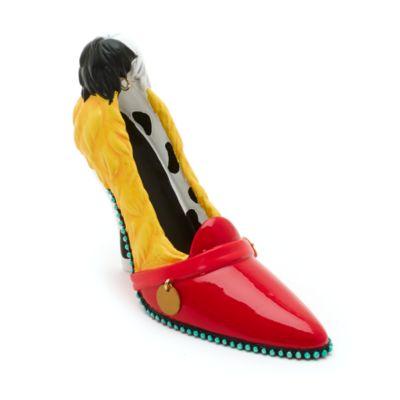Chaussure décorative miniature Cruella d'Enfer Disney Parks, Les 101 Dalmatiens
