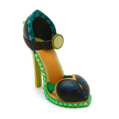 Zapato decorativo miniatura Anna de Frozen
