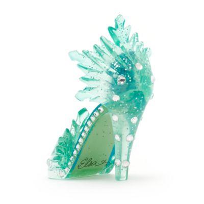 Elsa From Frozen Miniature Decorative Shoe, Disneyland Paris