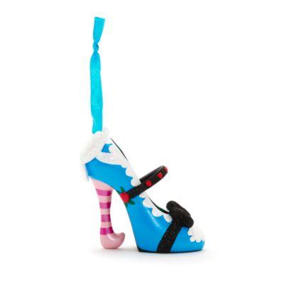 Mini chaussure décorative Alice au Pays des Merveilles
