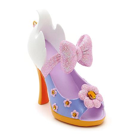 Disney Parks Daisy Duck Miniature Shoe Ornament