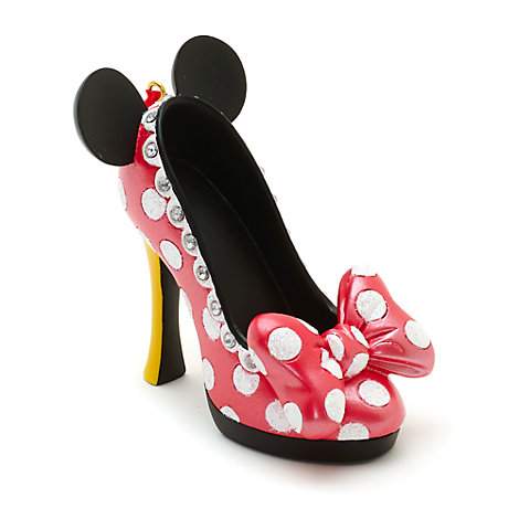 Mini chaussure décorative Minnie Mouse