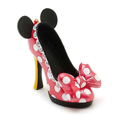 Zapato decorativo miniatura Disney Parks Minnie