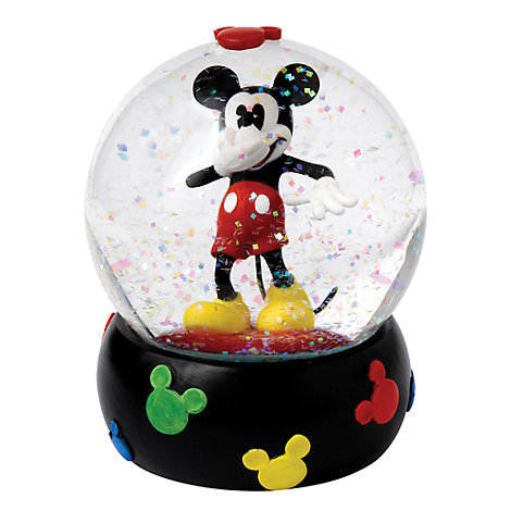 Enchanting Disney Collection Mickey Mouse Snow Globe