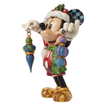 Disney Traditions Mickey Mouse Deck The Halls Figurine