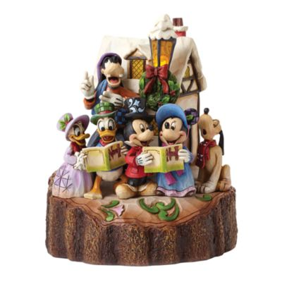 Disney Traditions Mickey and Friends Harmony Light-Up Figurine