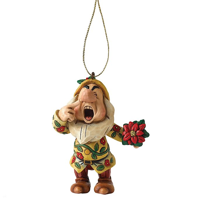 Disney Traditions Sneezy Christmas Decoration