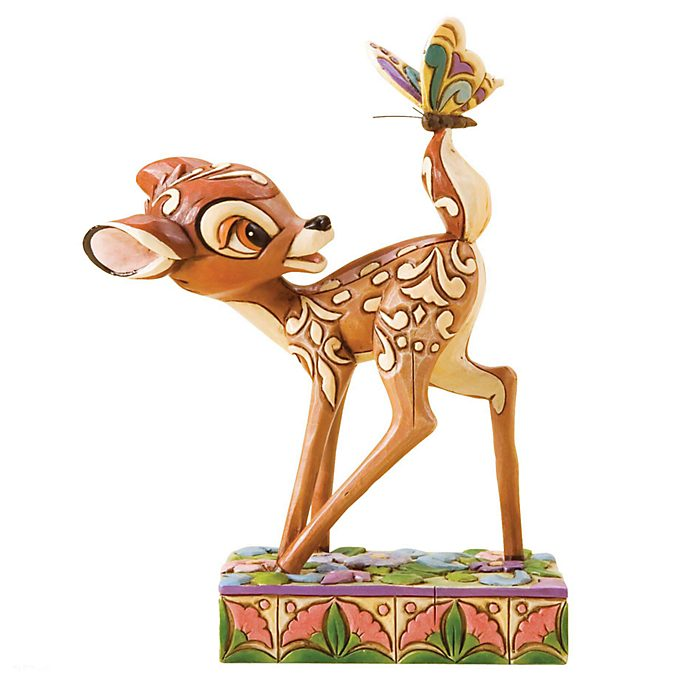 Disney Traditions Bambi and Butterfly Figurine