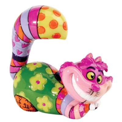 Britto Cheshire Cat Mini Figurine