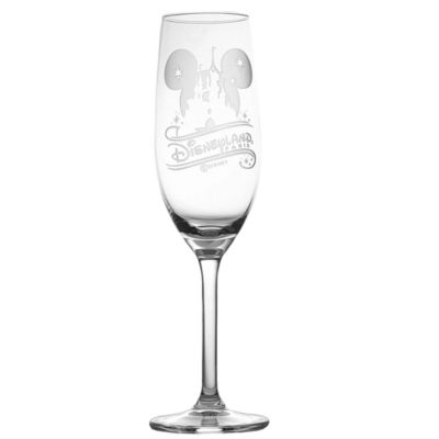 Arribas Glass Collection, Disneyland Paris Castle Champagne Flute