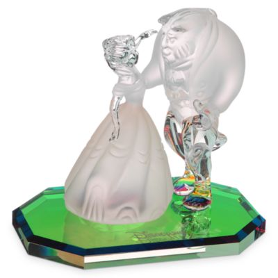 Arribas Glass Collection, Beauty and the Beast Figurine