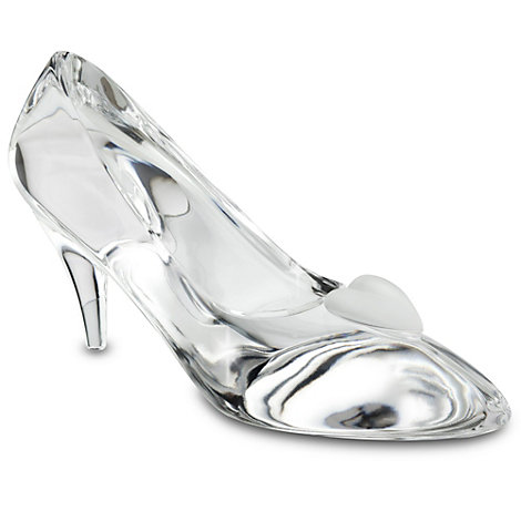 Arribas Glass Collection, Cinderella Slipper Ornament