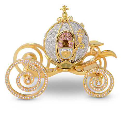 Arribas Jewelled Collection, Cinderella Carriage Figurine