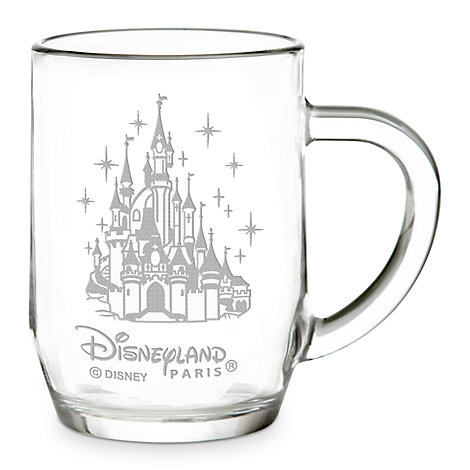 Arribas Glass Collection, Disneyland Paris Castle Glass Mug