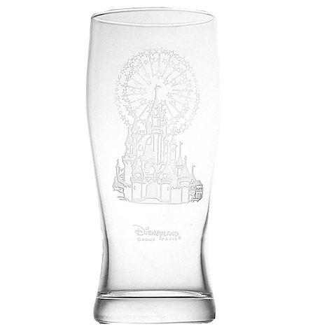 Arribas Glass Collection, Disneyland Paris Castle Pint Glass