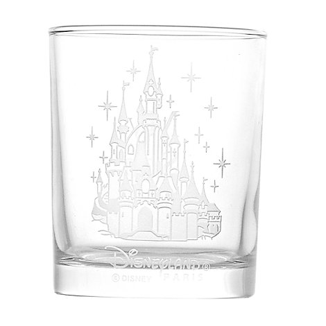 Arribas Glass Collection, Disneyland Paris Castle Glass Tumbler