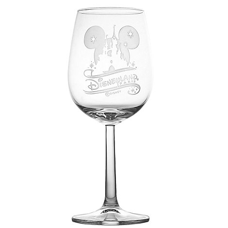 Arribas Glass Collection, Disneyland Paris Castle Wine Glass