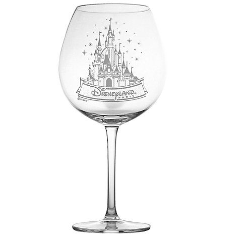 Arribas Glass Collection, Disneyland Paris Castle Extra Large Wine Glass