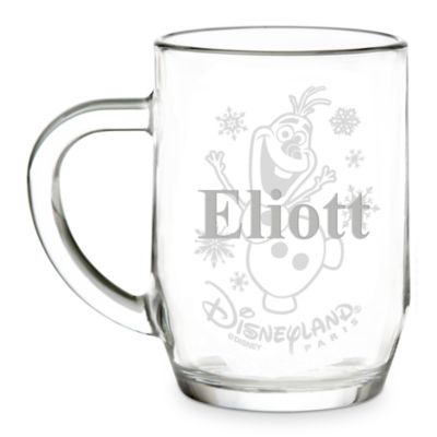 Arribas Glass Collection, Olaf Glass Mug