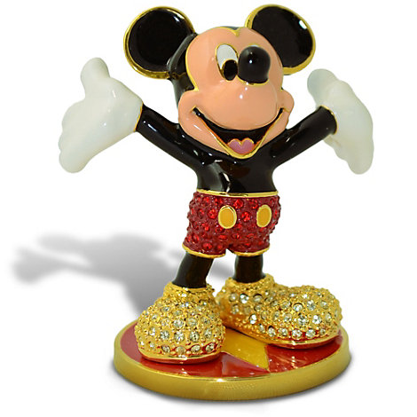 Arribas Jewelled Collection, Mickey Mouse Miniature Figurine