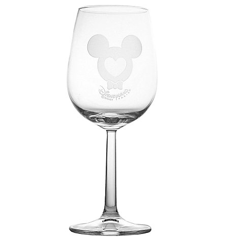 Arribas Glass Collection, Mickey Mouse Wine Glass