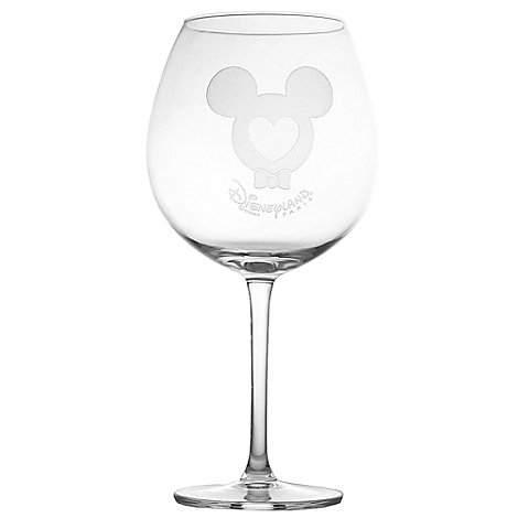 Arribas Glass Collection, Disneyland Paris Mickey Mouse Extra Large Wine Glass