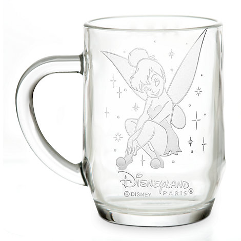 Arribas Glass Collection, Tinker Bell Glass Mug