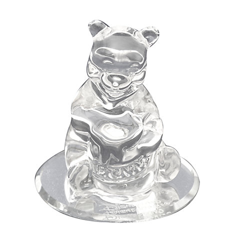 Arribas Glass Collection, Winnie The Pooh Figurine