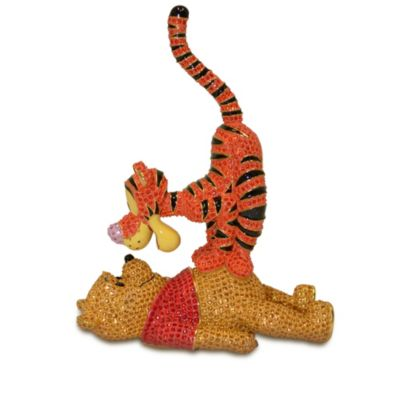 Arribas Jewelled Collection, Winnie The Pooh And Tigger Large Limited Edition Figurine